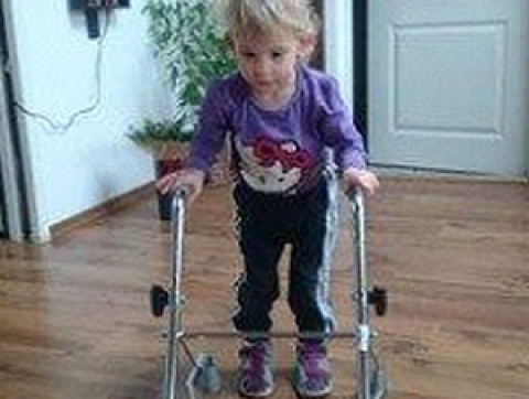 Leonka dostala pod stromeček léčebnou rehabilitaci za 55 020 Kč